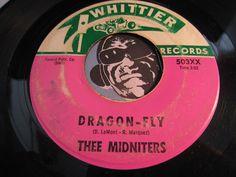 Thee Midniters - Dragon-Fly b/w The Big Ranch (El Rancho Grande) - Whittier #503 - Garage Rock - Chicano Soul