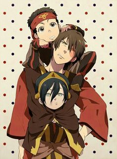 Aang, Zuko, and Toph. Zuko parenting these wild kids Avatar Aang, Avatar Airbender, Avatar Legend Of Aang, Avatar Funny, Team Avatar, Legend Of Korra, Zuko And Katara, Avatar Fan Art, Prince Zuko