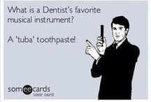 What's a Dentist's favorite musical instrument? From your dental internet marketing company, Smile Savvy. Dental Puns, Dentist Jokes, Dental Quotes, Dental Hygiene School, Dental Facts, Dental Assistant, Dental Humour, Dental Hygienist, Children's Dental