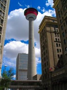Calgary Tower - have you been? How about Sky360 Restaurant? Unbeatable Calgary Views!