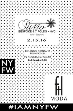 #FuMoBespoke at #NewYork #FashionWeek with #FTLModa #FW2016  15th February at Angel Orsensaz Foundation  Stay tuned!  #FuMoNYFW  #nyfw #nyc #FashionPress #fashionmagazine #fashiondesigner #fashionphotography #fashionistas #personalshoppers #fashionblogger #luxury #womenfashion #mensfashion #readytowear #media  #customshirts  #dandy #runway #italianfashion  #womenswear #redcarpet #instafashion #instagood #follow #dapper