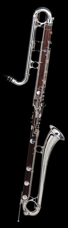 Selmer 28 B flat contrabass clarinet.                              …