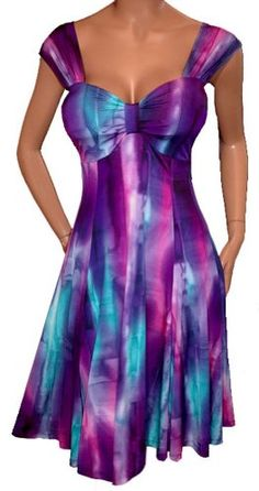 FUNFASH SLIMMNG PURPLE EMPIRE WAIST COCKTAIL DRESS WOMENS Plus Size Made in USA - FUNFASH SLIMMNG PURPLE EMPIRE WAIST COCKTAIL DRESS WOMENS Plus Size Made in USA    Fabric feels slinky smooth and soft on your skinWrinkle free, perfect for packing on