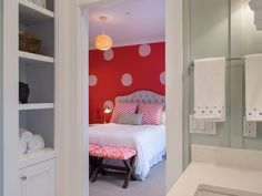 Plan - cheerful kid's room or guest suite Dream Home Design, House Design, House Plans And More, Colonial Style Homes, Guest Suite, House Goals, Home Decor Furniture, Kids Bedroom, Kitchen Design