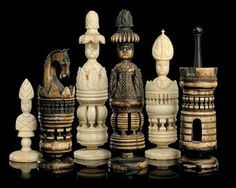 joel would love these. Chess Pieces, Game Pieces, Jenga, Chess Table, Classic Board Games, Chess Players, Chess Sets, Carving, Chess Boards
