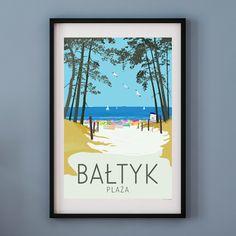 X 23, Art Mural, Wall Art, Tube Carton, Original Travel, Beach Print, Baltic Sea, Poster Making, Tall Ships
