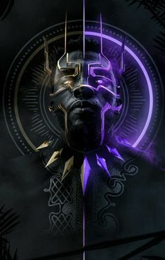Marvel has had a problem with crafting great villains in the past, but 'Black Panther' has given us something special with Erik Killmonger. Black Panther Marvel, Black Panther King, Black King, Marvel Comics, Marvel Heroes, Marvel Avengers, Jack Kirby, Wallpaper Series, Avengers Wallpaper