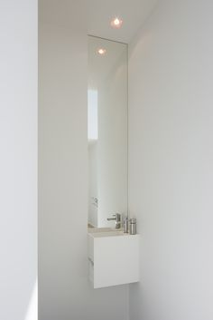 Custom designed toilet lavatory with mirror by architectenburo Anja Vissers. Custom designed toilet lavatory with mirror by architectenburo Anja Vissers. Quirky Home Decor, Indian Home Decor, Fall Home Decor, Cheap Dorm Decor, Cheap Bedroom Decor, Target Home Decor, Home Decor Quotes, Minimalist Home Interior, Home Decor Paintings