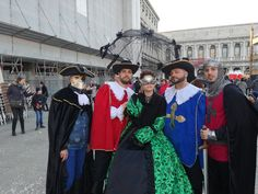 Io e i cavalieri/moschettieri Me and the Knights / Musketeers