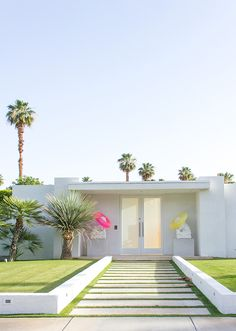 Palmsprings house very minimalist