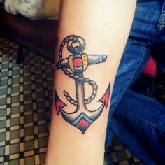 Old school anchor, so Beautiful