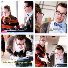 """Hello, this is CatCo. How may I help you?"" - Mon-El and Kara #Supergirl ((Bahahaha!!))"