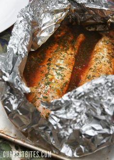 Teriyaki Orange Salmon Recipe - REALLY GOOD!