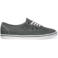 The Authentic Lo Pro is a delicate feminine take on the most popular classic lace up shoe. Stylish in a contemporary way, for you girls out there who want a low profile silhouette that's playful and casual. Wear these with shorts or your favorite skinny jeans, it doesn't matter what the occasion these shoes can compliment any outfit. Complete with the Vans' micro waffle bottom outsoles.