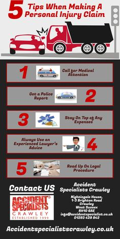 5 Tips When Making A Personal Injury Claim