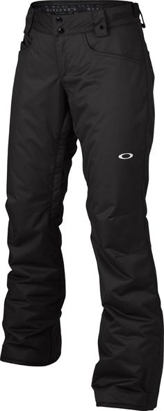 Oakley Tango Insulated Women's Snowboard/Ski Pants, M, Jet Black