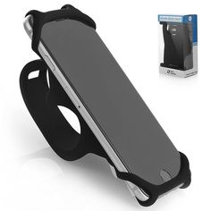 Premium Bike and Motorcycle PHONE MOUNT Made of Durable Non-Slip Silicone. Mobile Cellphone Holder / Universal Cradle for 99% of Smartphones and All Handlebars. Secure and Flexible - SILICO' http://amzn.to/2lfGI9F #TeamObsidian