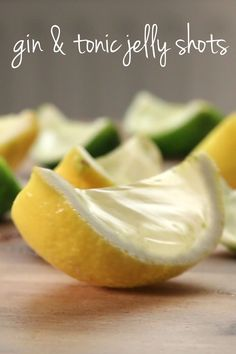 Gin & Tonic Jelly Shots - Oooooft!