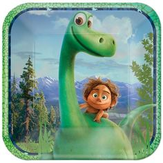 The Good Dinosaur Party Supplies - Dinosaur Birthday Party - Party City Dinosaur Party Supplies, Dinosaur Birthday Party, Birthday Ideas, Party Plates, Dinner Plates, Dessert Plates, The Good Dinosaur, American Greetings, Colorful Party