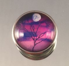 A personal favorite from my Etsy shop https://www.etsy.com/listing/222450424/moon-lite-tree-snap-chunk-bead-glass