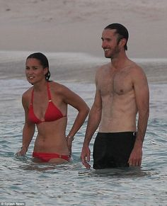 1/21/16.   Pippa Middleton and James Matthews (pictured together) were first rumoured to be dating back in October