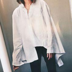 Oversized White Shirt | LA COOL & CHIC