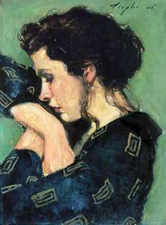 Malcolm T. Liepke - Er zit 'leven' in dit schilderij.