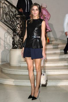 Olivia Palermo at the Dior Couture show