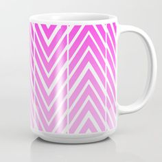 This mug is made using original art - Pink and White Arrow Art. Premium ceramic coffee mugs. Great for hot or cold beverages. Features wrap-around art. 15 ounce. Travel Mugs – Ceramic and Metal. Most original art/photography available in the following. | eBay!
