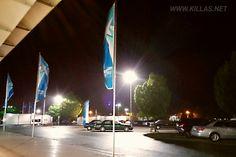 #Flughafen #Paderborn #Lippstadt bei #Nacht