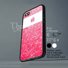 pink glitter Iphone 6 note for  6 Plus