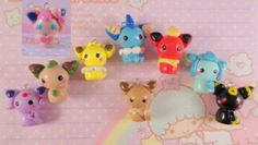 Cute eevee ori cats. My friend made them and they are perfect accesories.