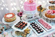 An Elegant Tea Party Theme for Your Child's Birthday