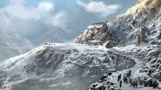 Image result for snowy village fantasy