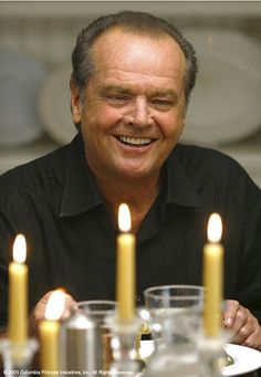 Jack Nicholson portraying Harry Sanborn in Something's Gotta Give ~ 2003