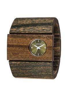 Vestal Watches - Rosewood-Green Sandalwood