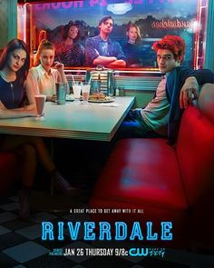 The First Poster of CW's Riverdale