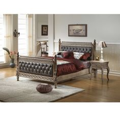 American Bedroom Set Upholstered