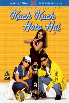1st Indian movie I ever watched fully plus I liked it alot!  Kuch Kuch Hota Hai - October 16, 1998