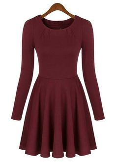 07dac102c136 Don t miss out on this Long Sleeve Skater Dress. Only at  MyLulusCloset