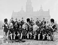 Danish NCOs from all army regiments posing in front of Rosenborg Castle 1896 [2632  2071] http://ift.tt/2cJRmA1