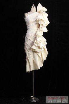【立体裁剪】晒晒作品/立裁开课一个月- 立体剪裁-中国最专业的服装设计灵感源-服装设计素材-服装设计灵感-服装设计图-服装设计作品