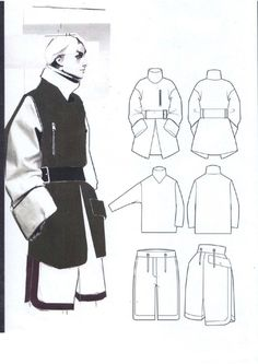 Fashion Illustration & Textiles : Photo