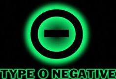 type o negative band symbol