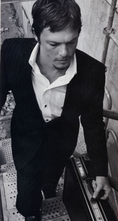 Norman Reedus Black and White