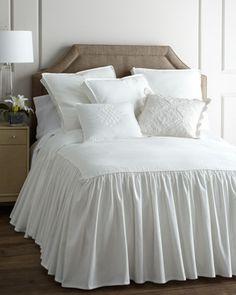 Trina - bedspread with long drop | Twin Hampton Bedspread w/ 28 at Horchow.com