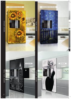 ISSUU - Refrigerators decorated by Coolors 2012 by Web-Com sas