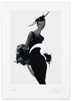 David Downton - Versace / Fashion Illustration Gallery