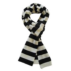 Looking for Soft Knit Striped Scarf - Black & White ? Check out our picks for the Soft Knit Striped Scarf - Black & White from the popular stores - all in one. Sherlock Scarf, Mens Cashmere Scarf, Thing 1, Striped Scarves, Striped Knit, White Scarves, Stripes Fashion, Pashmina Scarf, Neck Scarves