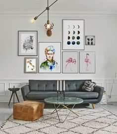 Playful white home   Living rooms, Interiors and Room
